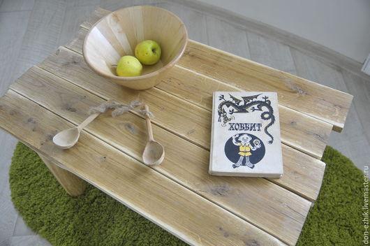 Мебель ручной работы. Ярмарка Мастеров - ручная работа. Купить Журнальный столик ручной работы из дуба. Handmade. Столик журнальный