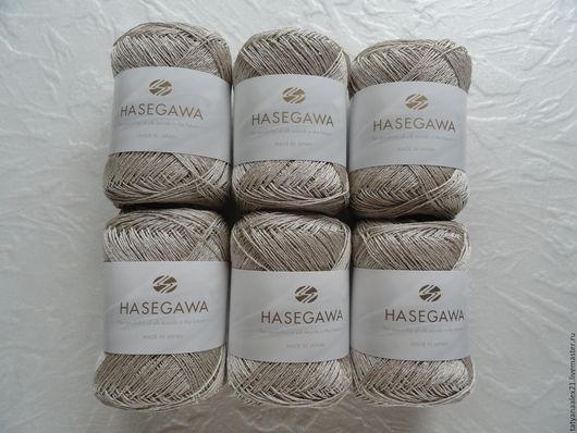 Вязание ручной работы. Ярмарка Мастеров - ручная работа. Купить Пряжа Hasegawa RYOFU 1 NATURAL. Handmade. Пряжа в мотках