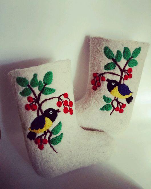 Обувь ручной работы. Ярмарка Мастеров - ручная работа. Купить Детские валенки. Handmade. Валенки для улицы, валенки для девочки