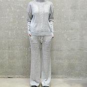Одежда handmade. Livemaster - original item Women`s Ultra cashmere suit. Handmade.