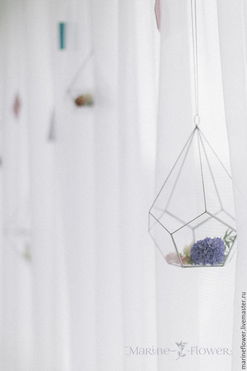Флорариум Вытянутый додекаэдр. Маленький