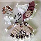 Куклы и игрушки ручной работы. Ярмарка Мастеров - ручная работа Комплект одежды для куклы. Handmade.