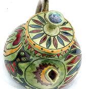 """Посуда ручной работы. Ярмарка Мастеров - ручная работа Чайник """" Цветы на небе"""". Handmade."""