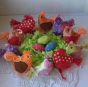 Подарки к праздникам handmade. Livemaster - original item chicken little bags for Easter eggs. Handmade.