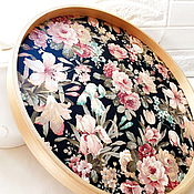Для дома и интерьера handmade. Livemaster - original item A huge tray with double-sided print