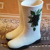 """Обувь ручной работы. Ярмарка Мастеров - ручная работа Валяные сапожки """"Изабелла"""". Handmade."""