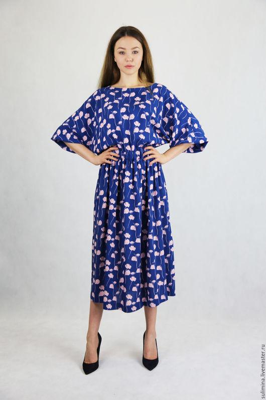 Платья ручной работы. Ярмарка Мастеров - ручная работа. Купить Платье ЦВЕТОК. Handmade. Комбинированный, купить платье, платье купить