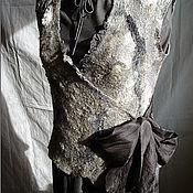 """Одежда ручной работы. Ярмарка Мастеров - ручная работа Жилет """"Отражение"""". Handmade."""