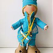 Портретная кукла ручной работы. Ярмарка Мастеров - ручная работа Портретная кукла: Спортсменка. Handmade.