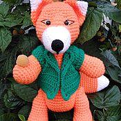 Мягкие игрушки ручной работы. Ярмарка Мастеров - ручная работа Мягкие игрушки: лисёнок. Handmade.