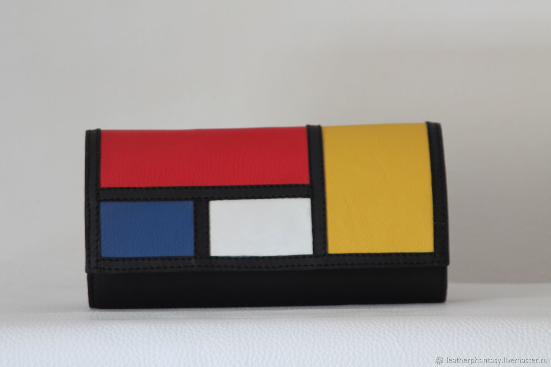 Copy of Leather Mondrian clutch bag, Clutches, Bologna,  Фото №1