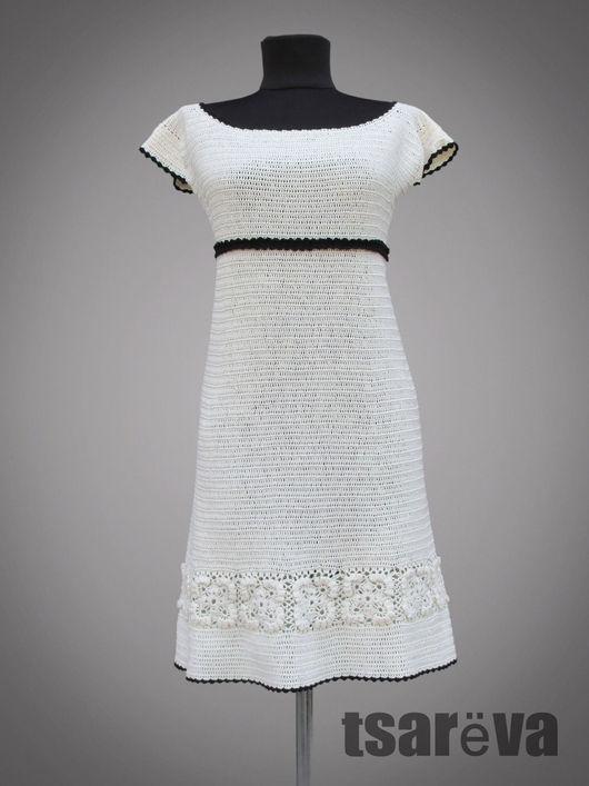 Платья ручной работы. Ярмарка Мастеров - ручная работа. Купить Mademoiselle Coco. Handmade. Чёрно-белый, платье коктейльное