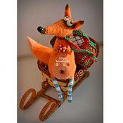 Куклы и игрушки ручной работы. Ярмарка Мастеров - ручная работа Лисичка-вся в мечтах. Handmade.