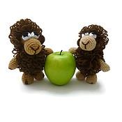 Куклы и игрушки ручной работы. Ярмарка Мастеров - ручная работа Вязаная игрушка Овечка. Handmade.