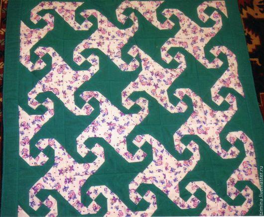 Пледы и одеяла ручной работы. Ярмарка Мастеров - ручная работа. Купить Лоскутное детское одеялко. Handmade. Детское лоскутное одеяло