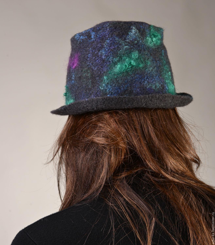 Шляпа из шелка мастер класс  #10
