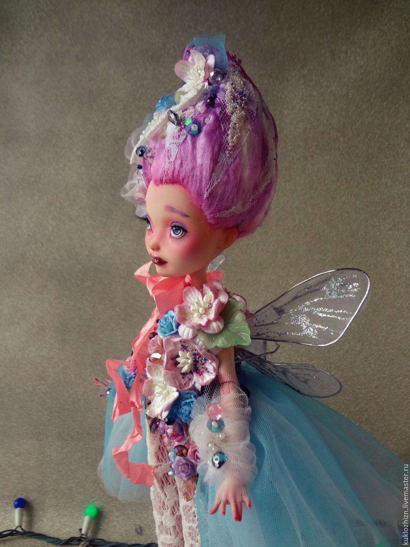 ooak. feechka. copyright jointed doll, Ball-jointed doll, Komsomolsk-on-Amur,  Фото №1