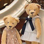 Куклы и игрушки ручной работы. Ярмарка Мастеров - ручная работа Мишка тедди Звездочка - мягкая игрушка. Handmade.
