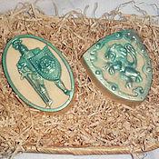 Косметика ручной работы. Ярмарка Мастеров - ручная работа Подарок для мужчины на 23 февраля мыло набор рыцарь со щитом. Handmade.