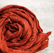 Аксессуары handmade. Livemaster - original item Felted shawl-shawl
