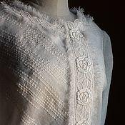 Одежда ручной работы. Ярмарка Мастеров - ручная работа Костюм 2105 Белый бохо 1. Handmade.