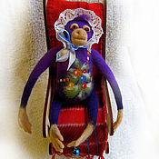 """Куклы и игрушки ручной работы. Ярмарка Мастеров - ручная работа Войлочная фигурка — """"Рождественские грезы - 2"""". Handmade."""