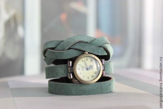 """Часы ручной работы. Ярмарка Мастеров - ручная работа. Купить Часы """"Мятные"""". Handmade. Мятный, подарок на любой случай"""