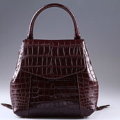 Сумки и аксессуары handmade. Livemaster - original item Crocodile skin abdominal backpack IMA0694VK4. Handmade.