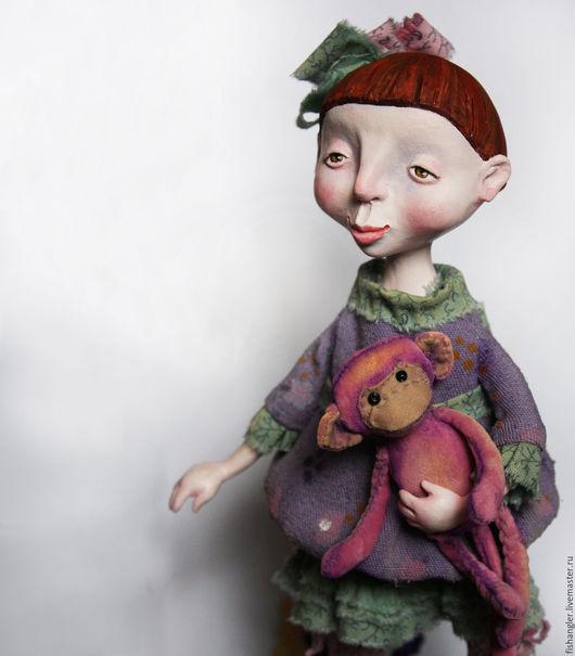 Коллекционные куклы ручной работы. Ярмарка Мастеров - ручная работа. Купить коллекционная авторская кукла Марта. Handmade. девочка, розовый