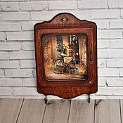 Для дома и интерьера handmade. Livemaster - original item Key holders wall: Romantic. Handmade.