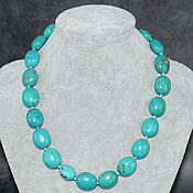 Работы для детей, handmade. Livemaster - original item Natural Arizona Turquoise Beads. Handmade.