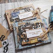 Канцелярские товары handmade. Livemaster - original item Checkbook Desires. Handmade.