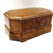 Для дома и интерьера handmade. Livemaster - original item The box is made of burl birch with a secret. Handmade.