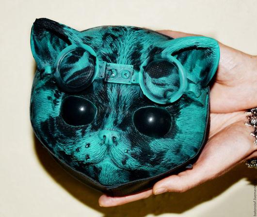 Женские сумки ручной работы. Ярмарка Мастеров - ручная работа. Купить Стимпанк сумка - кошка - рюкзак . Steampunk cat bag.. Handmade.