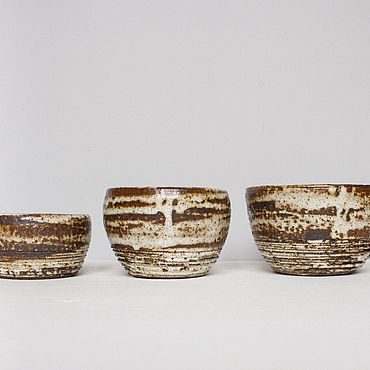 Посуда ручной работы. Ярмарка Мастеров - ручная работа Пиалы: набор пиал. Handmade.