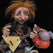 Куклы и игрушки ручной работы. Ярмарка Мастеров - ручная работа Рок Баба Ёга. Handmade.