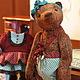 Мишки Тедди ручной работы. Мишка Тедди Ульяна 45 см. Старостина Татьяна (StarBears). Ярмарка Мастеров.