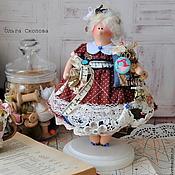 Куклы и игрушки ручной работы. Ярмарка Мастеров - ручная работа Тильда толстушка швея.. Handmade.
