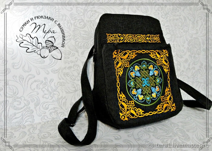 Backpack Celtic ornament, Backpacks, Krasnodar,  Фото №1