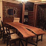 Столы ручной работы. Ярмарка Мастеров - ручная работа Стол из слэба. Handmade.