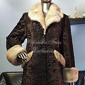 Пальто из каракуля Swakara