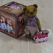 Куклы и игрушки ручной работы. Ярмарка Мастеров - ручная работа Макар мини винтаж. Handmade.