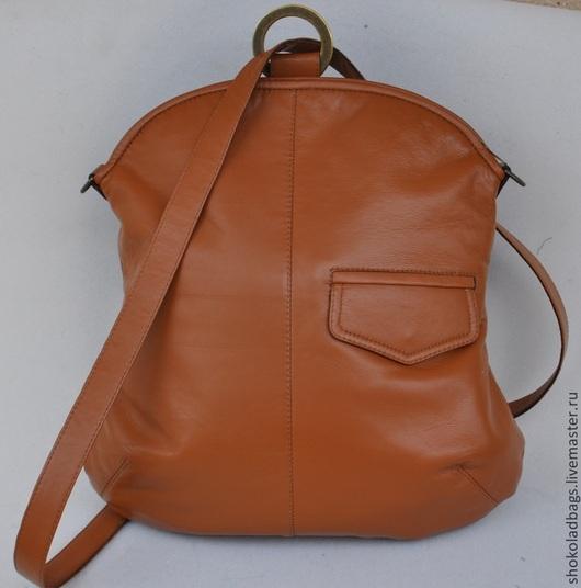 """Рюкзаки ручной работы. Ярмарка Мастеров - ручная работа. Купить Кожаный рюкзак - сумка """" Невыносимая легкость бытия"""". Handmade."""