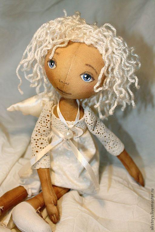 Ароматизированные куклы ручной работы. Ярмарка Мастеров - ручная работа. Купить Кофейный Ангел Мишель. Handmade. Белый, кофейный ангел