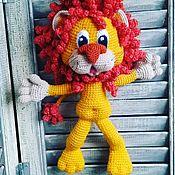 Мягкие игрушки ручной работы. Ярмарка Мастеров - ручная работа Львёнок. Handmade.
