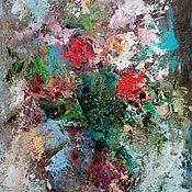 Картины и панно ручной работы. Ярмарка Мастеров - ручная работа Сквозь зимнюю порошу.... Handmade.