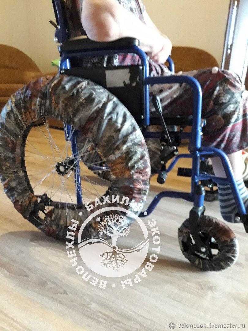 Из чего сшить чехлы на колеса детской коляски своими руками