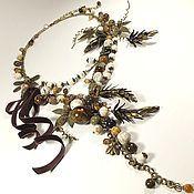 Украшения handmade. Livemaster - original item Intoxicated Vanilla. necklace.. Handmade.
