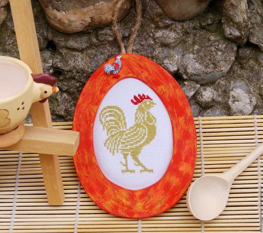 Подарки на Пасху ручной работы. Ярмарка Мастеров - ручная работа. Купить Декор для дома Петушок. Handmade. Пасха, пасхальная, яйца