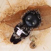 Куклы и игрушки ручной работы. Ярмарка Мастеров - ручная работа Ежик в магнолии)). Handmade.